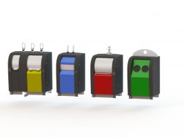 GFT rolcontainer behuizingen CPwastecs