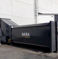 HABA gescheiden-perscontainer