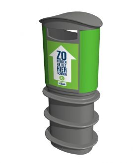 CityScape® , afvalbak